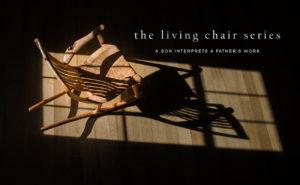 The Living Chair Series of live edge custom wood chairs