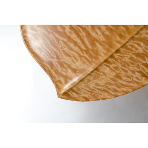 Close-up of the custom leaf design on our collaboration w/ Holly Ternheim on the Kvalheim Coffee Table
