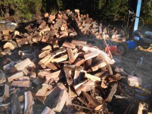 Hand-cut wood used to create custom handmade furniture at Erickson Woodworking