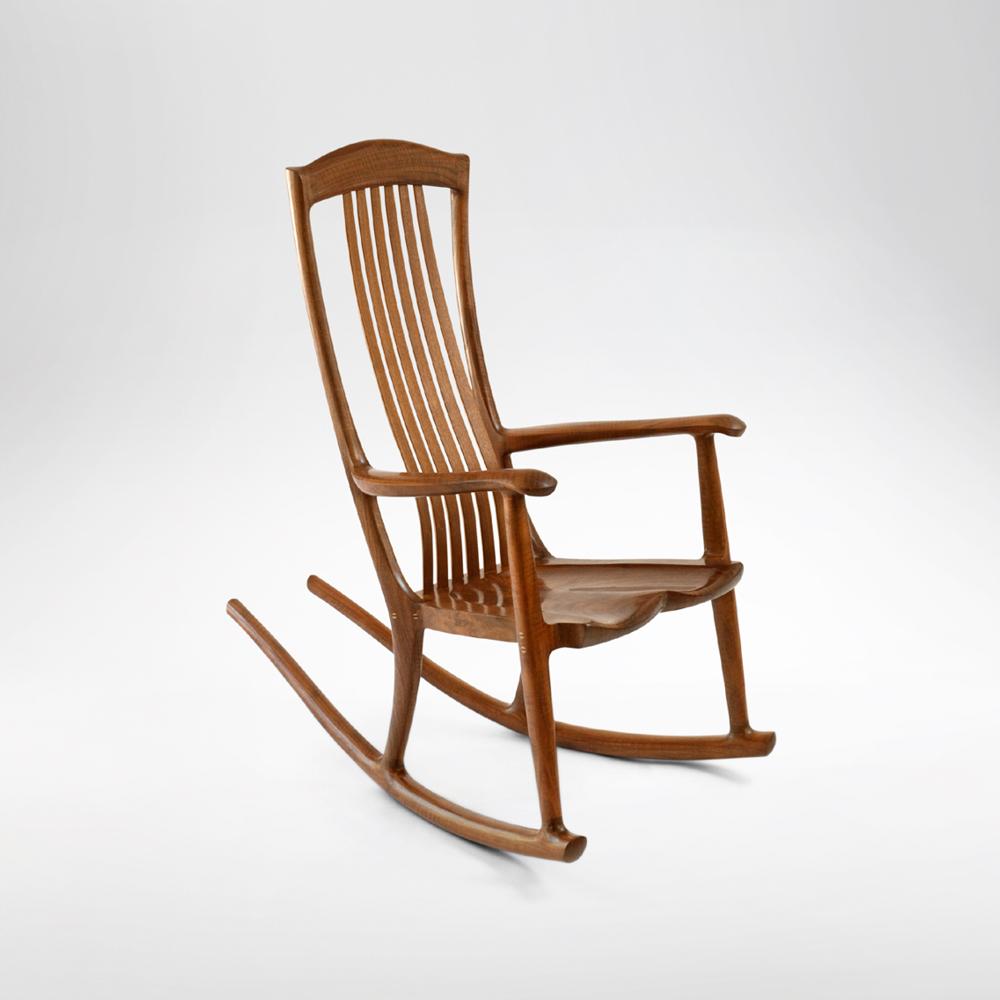 bar dsc stools chair rocking wood dining zebrawood hr chairs walnut handmade custom tables