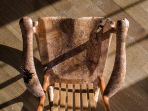 Tor Erickson's Live Edge South Yuba Rocking Chair handmade rocker for The Living Chair Series