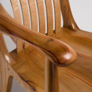 Handcrafted custom South Yuba rocking chair