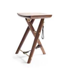 Custom Langhorne Camp Stool