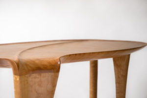 Handmade coffee table in collaboration w/ Holly Tornheim