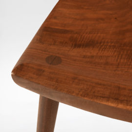 Close up view of the handcrafted South Yuba Side Chair