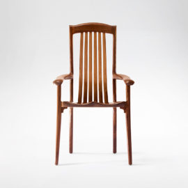 Handmade South Yuba Arm Chair for dining or occasional settings
