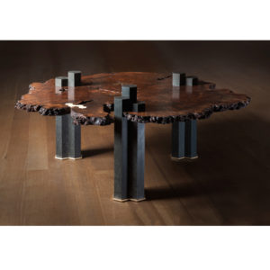 Our uniquely-inspired and custom designed Columnar Coffee Table