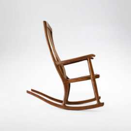 Custom rocker South Yuba Rocking Chair
