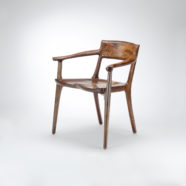 Our handmade low back arm chair, the Sumi Chair