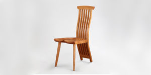 Our companion chair to the Gilbert Desk the handmade Lilienfeld Chair