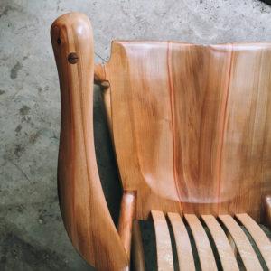 South Yuba handmade rocking chair
