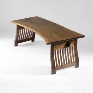 Custom Lilienfeld Desk crafted from California walnut