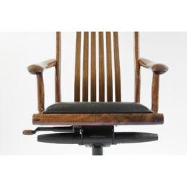 Seat view of the custom Niobrara Office Chair