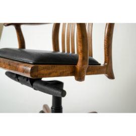 Low angle view of handmade Niobrara Office Chair